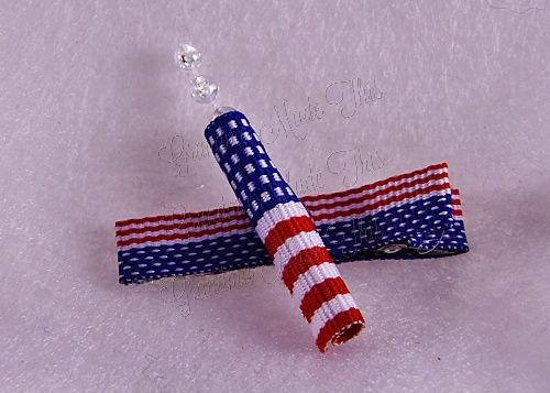 Firecracker Hairclip Flag-Medium (4)