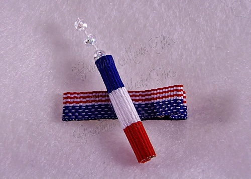 Firecracker Hairclip Flag-Small (2)