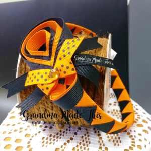 Halloween Spider Woven Headband