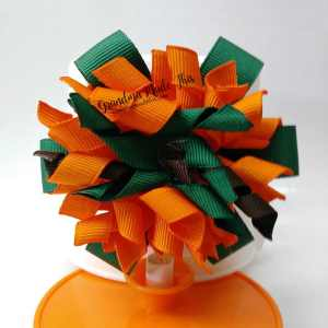 Halloween Korker Ribbon Hair Bows