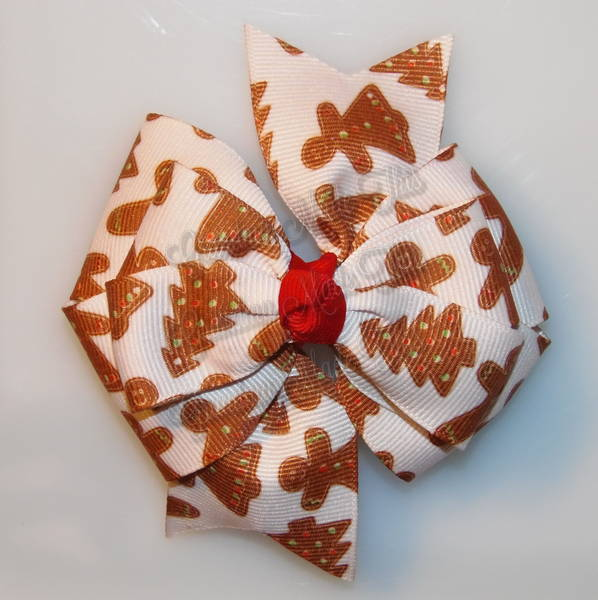 Gingerbread Treats Stacked Quad Pinwheel