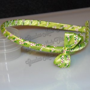 Christmas Wrapped Thin Headbands