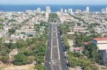 Havana from the memorial