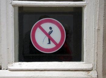 do not pee!