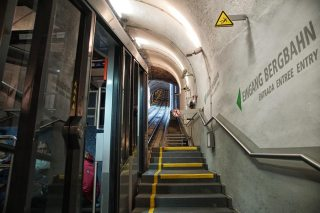 steps to funicular