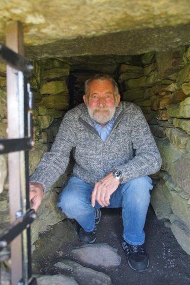 inside a cairn