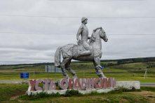 buryat statue