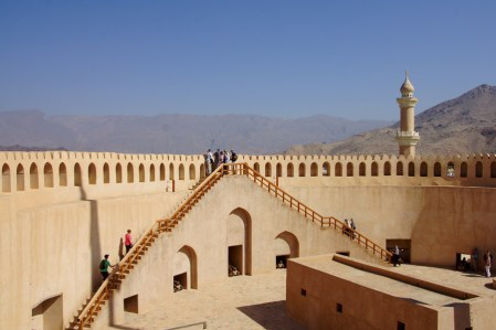 inside Nizwa fort