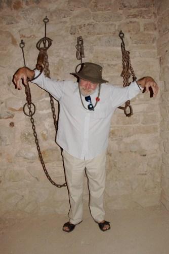 shackled!