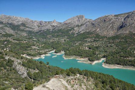 Guardalest reservoir