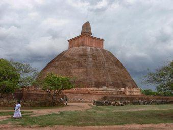 jetavana stupa