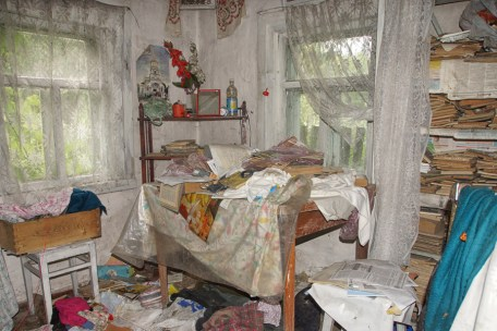 abandoned belongings Chernobyl
