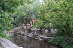 River Vilnia at Uzipis