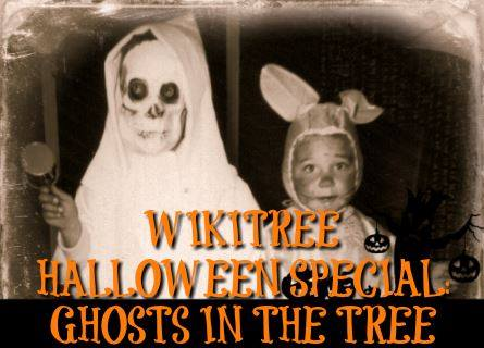 WikiTree Halloween Special: Ghosts in the Tree