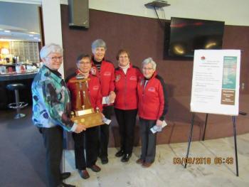 2018 Grandmasters Women's Championship Team MacKay