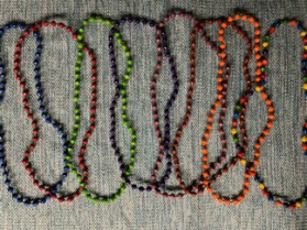 """Colorful Necklace (36"""" Long), $5.00"""