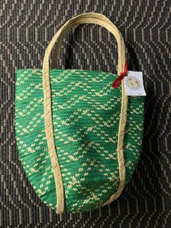 """Large Shoulder Bag (14"""" Long x 14"""" Wide), $30.00"""