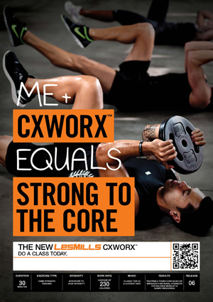 CXWorx core fitness class