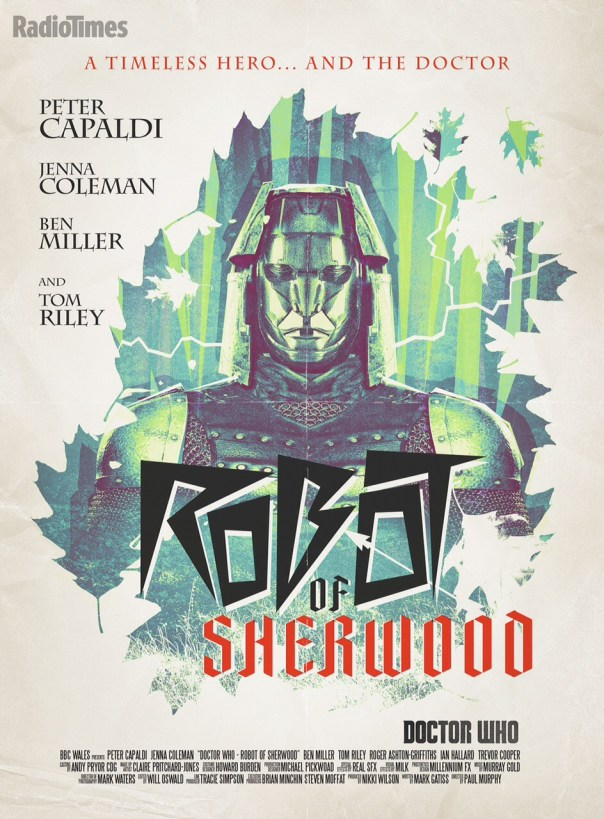 Review of Doctor Who Robot of Sherwood
