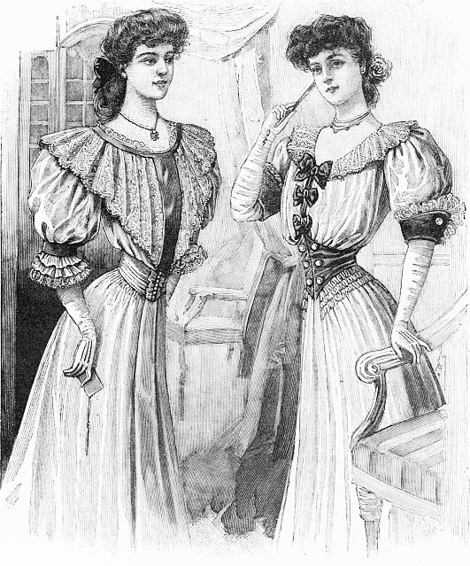 Праздничные платья для молодых девушек
