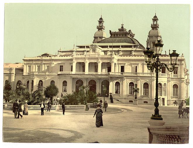 Здание казино Монте-Карло / Flickr, The Library of Congress
