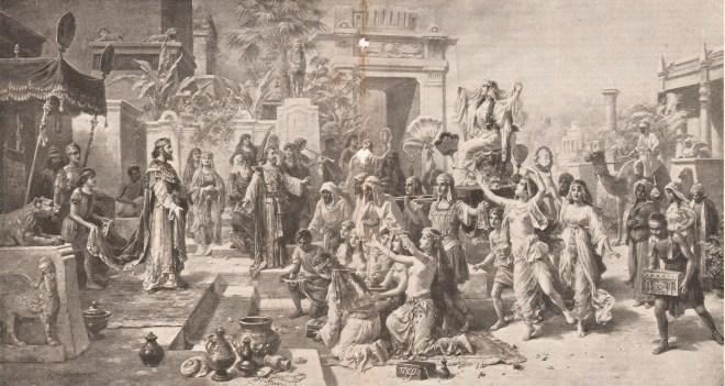 Царица Савская у Соломона, Обергаузен