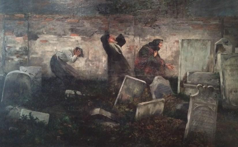 Samuel_Hirszenberg,_Cimetière_juif,_Lodz,1892