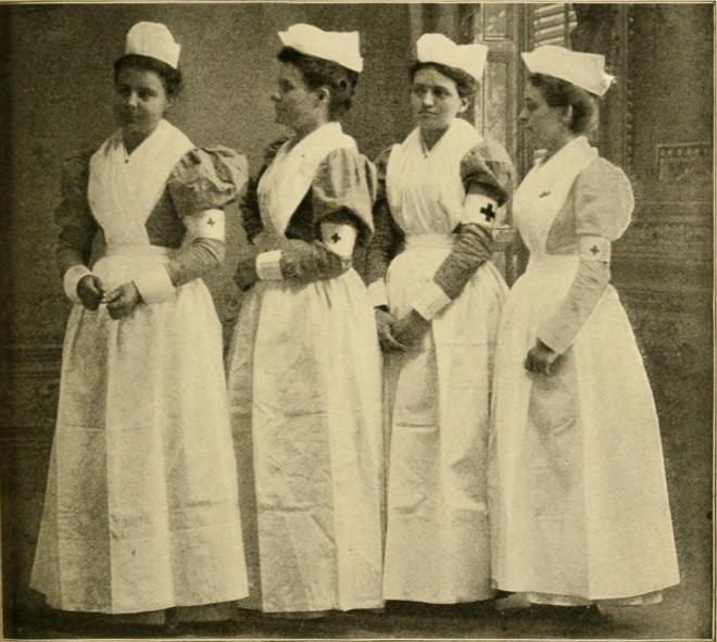 Сестры милосердия американского «Красного Креста» /Public Domain