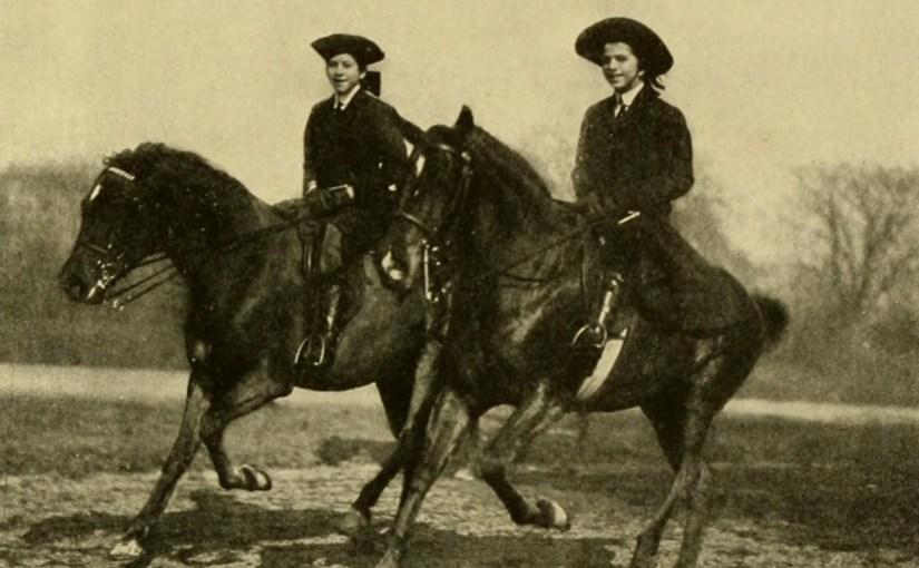 """Фотография из книги """"Верховая езда для женщин"""""""