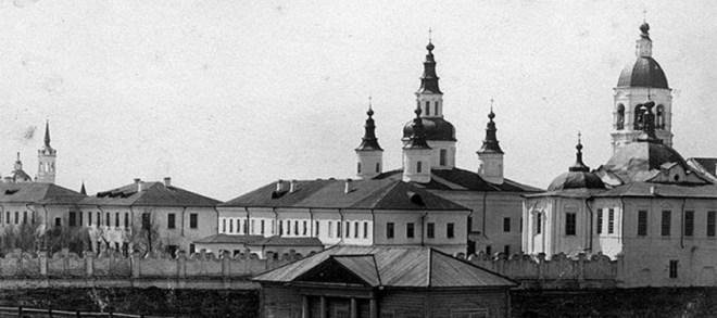 Тобольск. Знаменский мужской монастырь / Public Domain