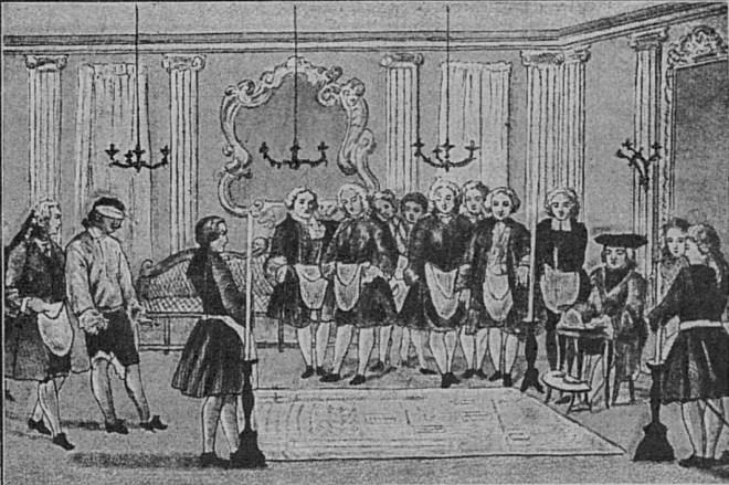 Ритуал принятия нового члена в ложу