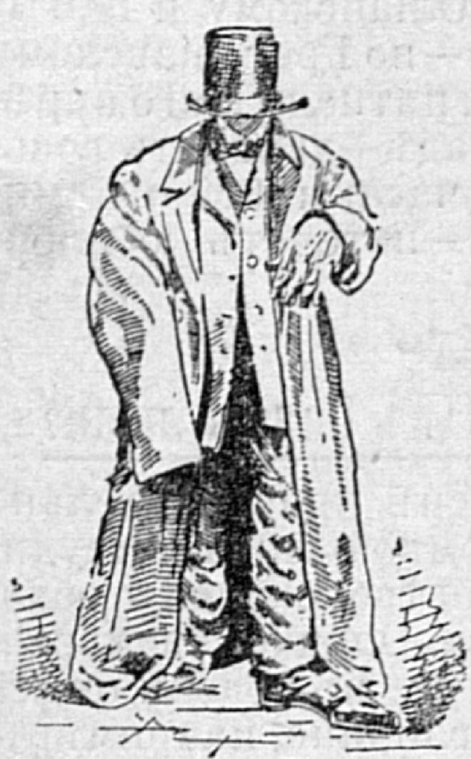 Человек среднего роста в одежде Вилькинсона