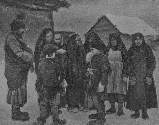 Среди голодающих - в деревне Чалково