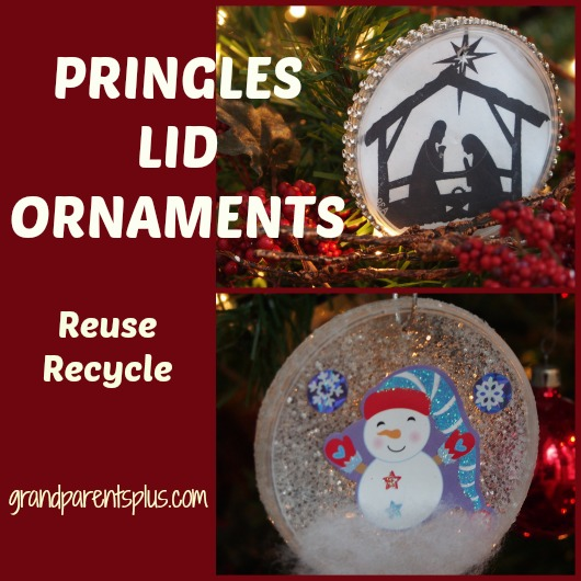 Pringles Lid Ornaments grandparentsplus.com