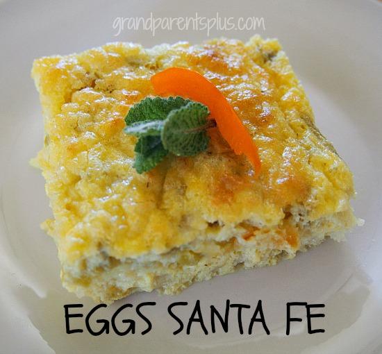 Eggs Santa Fe   grandparentsplus.com