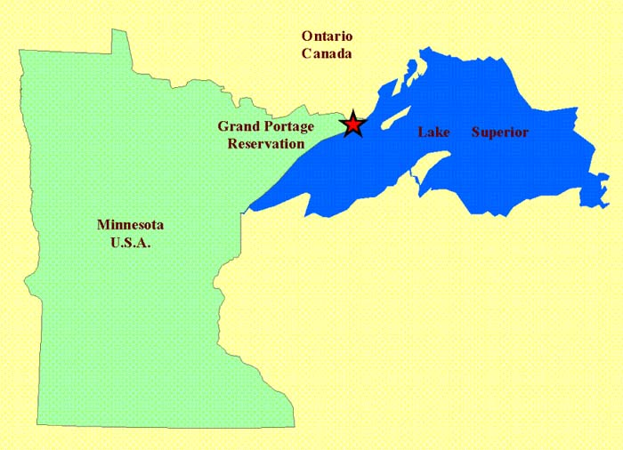 Portage Map Beaches