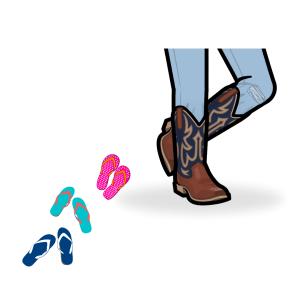 Boot season starts today