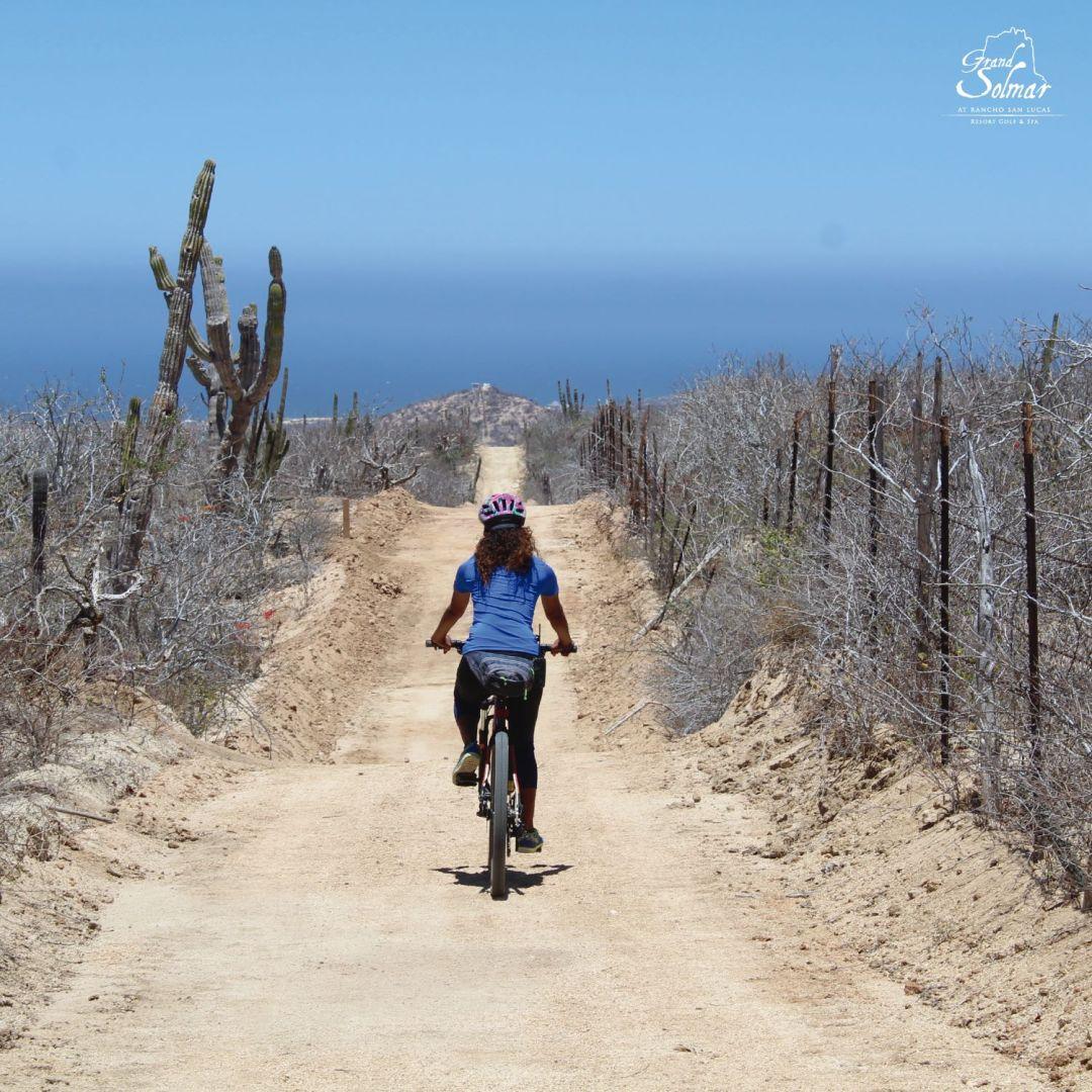 Biking at Grand Solmar Rancho San Lucas