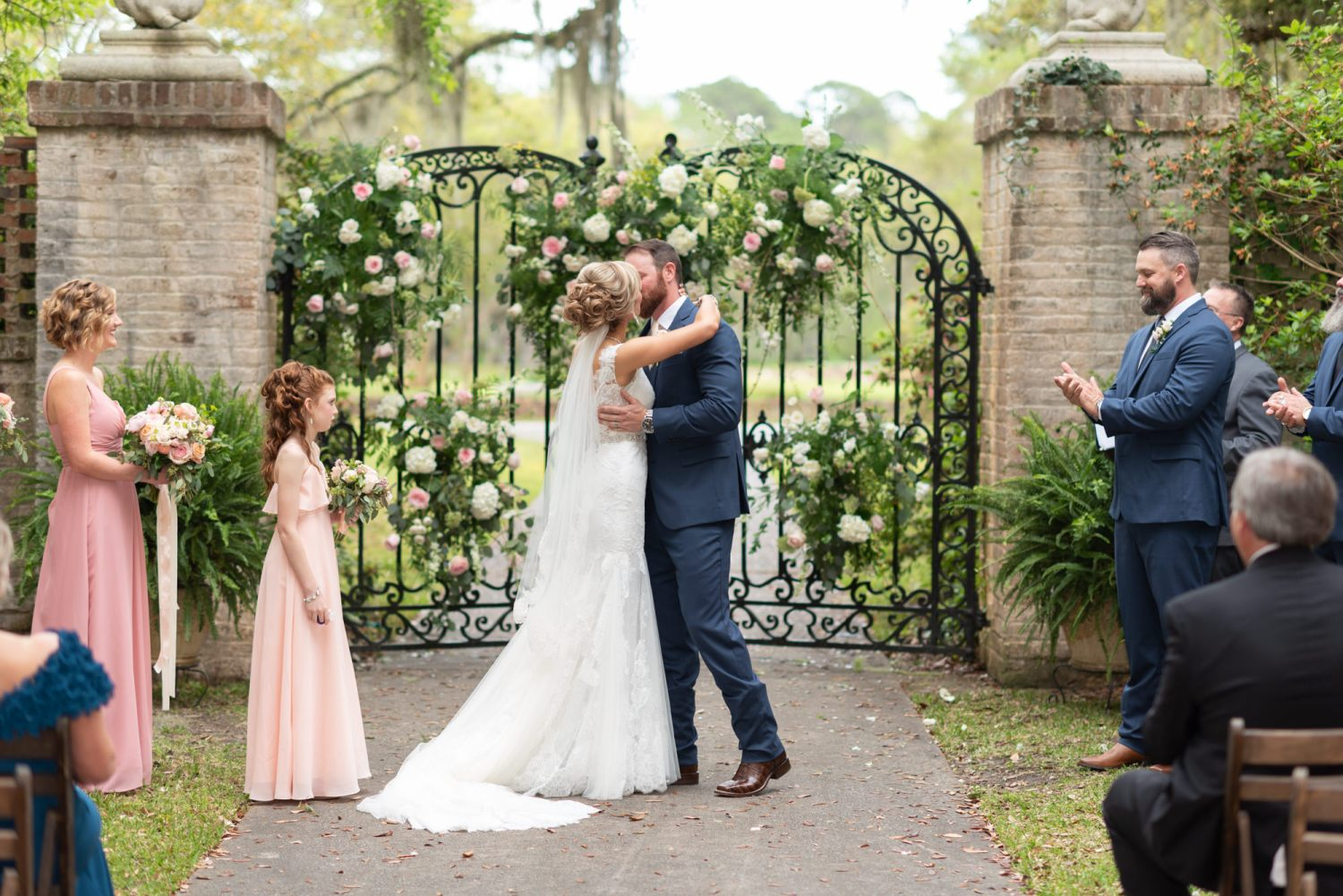First kiss - Brookgreen Gardens