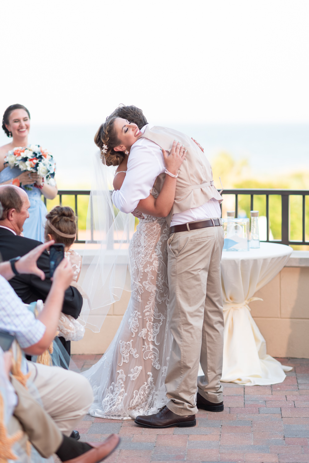 First kiss - Grande Dunes Ocean Club - Myrtle Beach