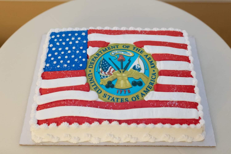 Grooms Army cake - Pawleys Plantation