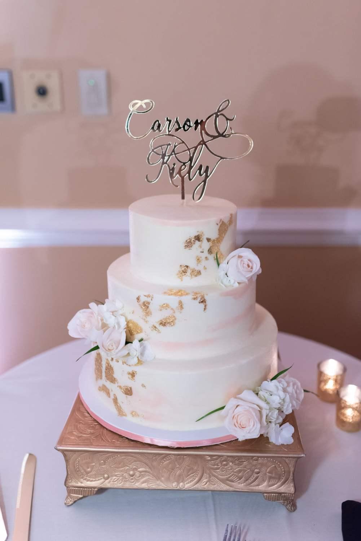 Wedding cake - Pawleys Plantation