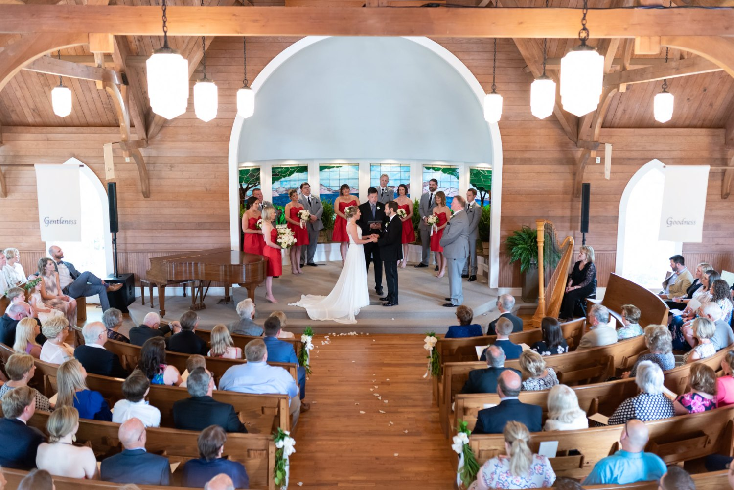 Nice view in the chapel - Pawleys Island Community Chapel