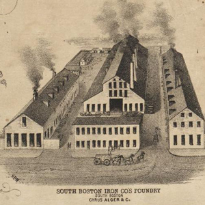 Historic Image of the South Boston Iron Foundry