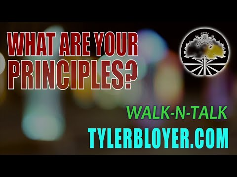 What are Your Principles?