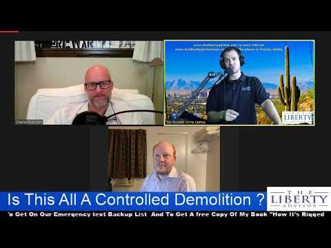 "TJS 26 With Charlie Robinson Author of ""The Controlled Demolition Of The American Empire"""