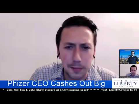 Phizer CEO Cashes Out Big
