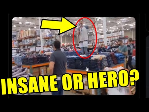 Fed-Up Dude Explodes on Shoppers in CommieCo Over Devastating Restrictions