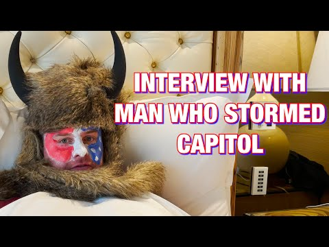 Interview With The Man Who Stormed The Capitol