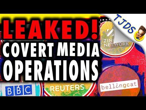 LEAKED!  Covert Media Propaganda Collusion Exposed.